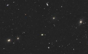 Virgohaufen um M58