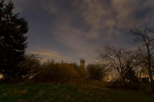 Grenzturm im Mondlicht