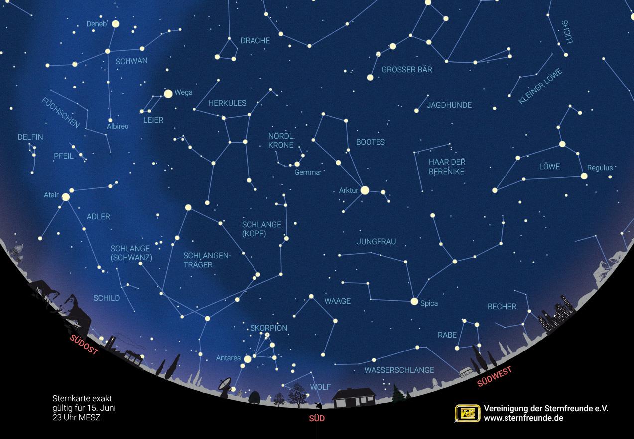 Unser Sternenhimmel im Juni 20 – Verein Sternenpark Rhön e.V.