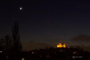 Annäherung Jupiter Satrun 18.12.2020 M. Streit